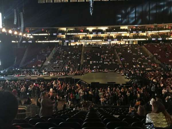 Prudential Center, section: 19, row: 15, seat: 14