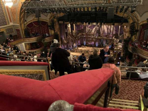 Richard Rodgers Theatre, section: Rear Mezzanine R, row: K, seat: 12