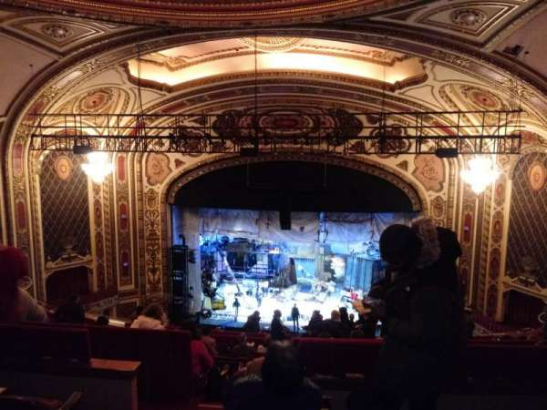 Cadillac Palace Theater, section: Balcony RC, row: O, seat: 322