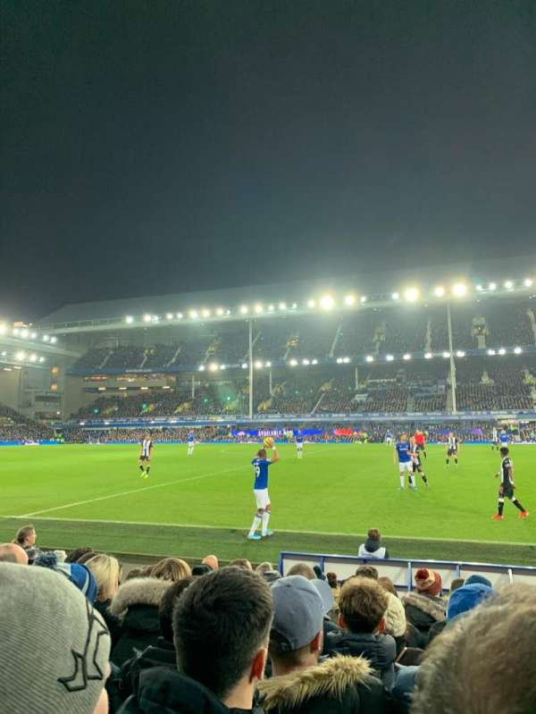 Goodison Park, section: PK3, row: 10, seat: 146