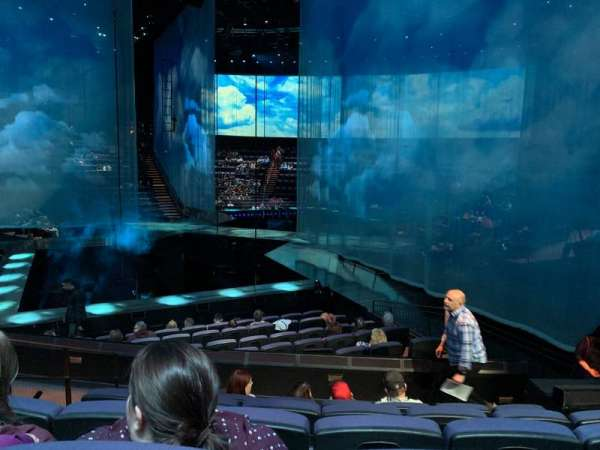 Love Theatre - The Mirage, section: 202, row: O, seat: 1