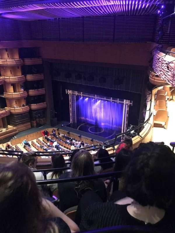 Donald Gordon Theatre at the Wales Millennium Centre, section: UC, row: E, seat: 55