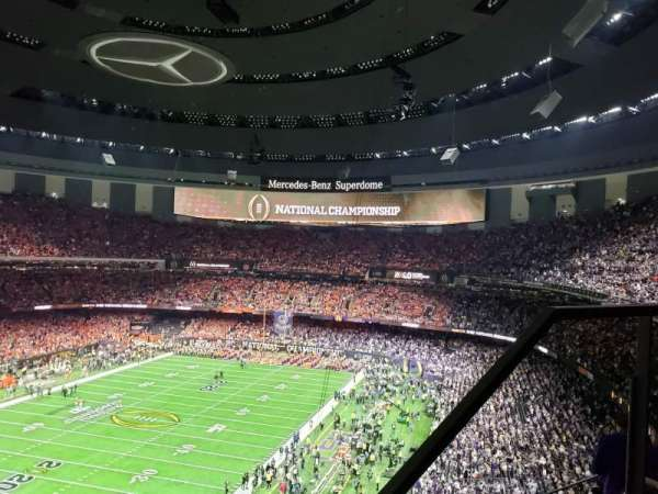 Caesars Superdome, section: 622, row: 7, seat: 3