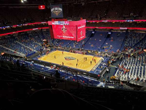Smoothie King Center, section: 329, row: 12, seat: 15