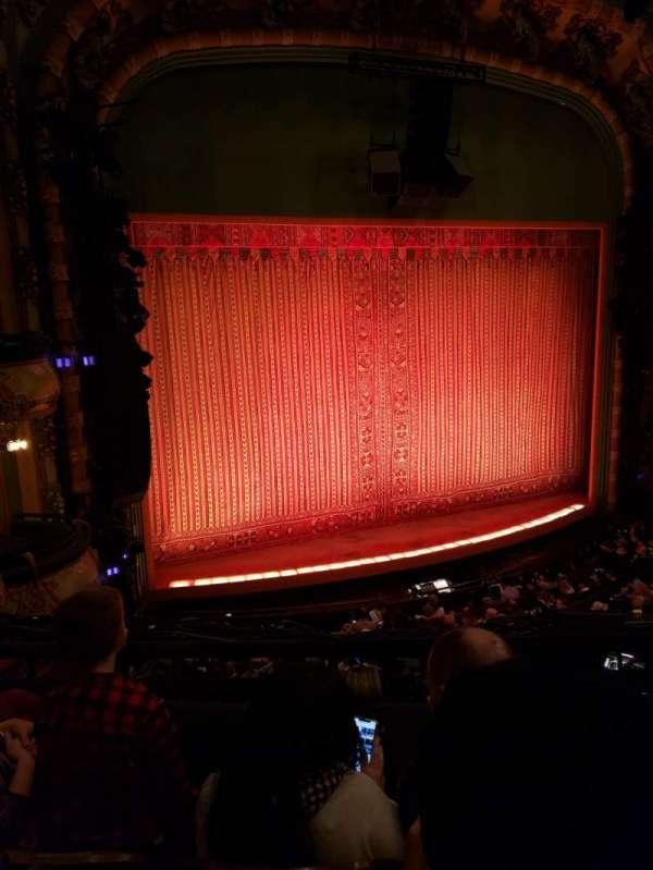 New Amsterdam Theatre, section: Mezzanine L, row: CC, seat: 21