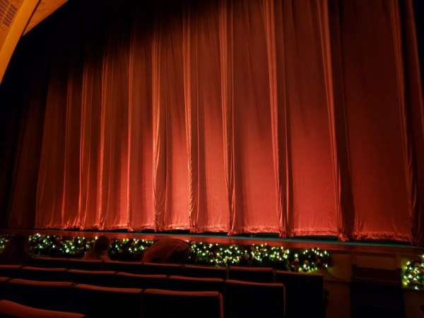 Radio City Music Hall, section: Orchestra 2, row: HH, seat: 214