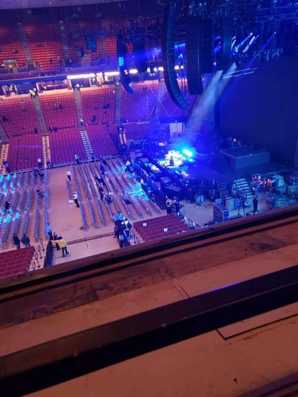 Frank Erwin Center, section: 61, row: 1, seat: 4