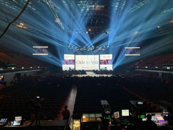 The Forum, section: 136, row: 3, seat: 3
