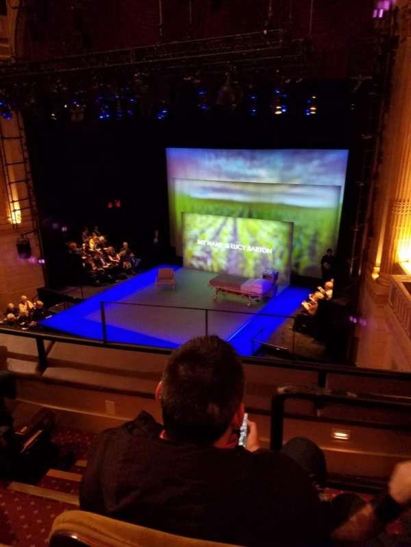 Samuel J. Friedman Theatre, section: Mezzanine R, row: a, seat: 4