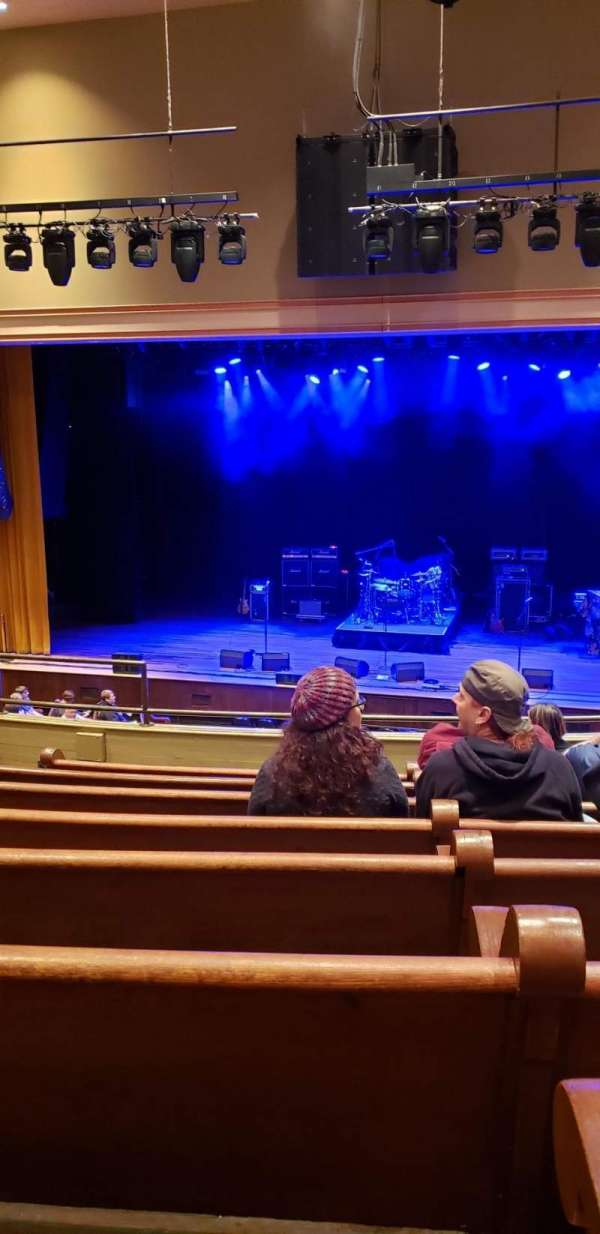 Ryman Auditorium, section: Bal-12, row: H, seat: 8