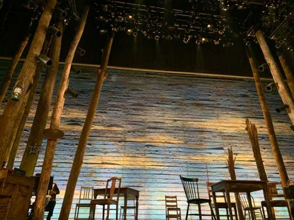 Gerald Schoenfeld Theatre, section: Orchestra C, row: AA, seat: 104