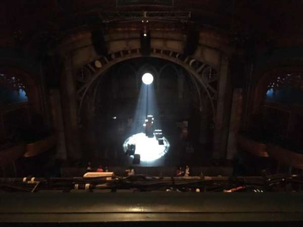 Curran Theater, section: Balcony C, row: B, seat: 108