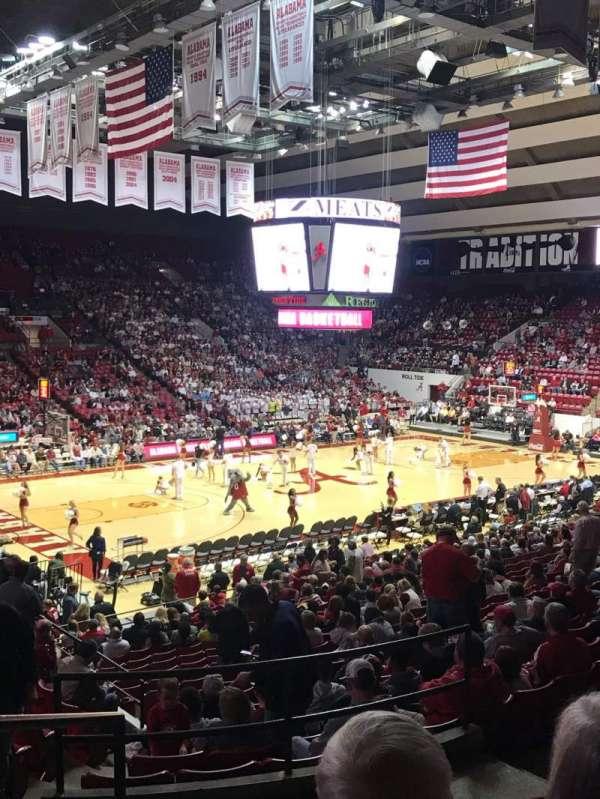 Coleman Coliseum, section: G, row: 24, seat: 9
