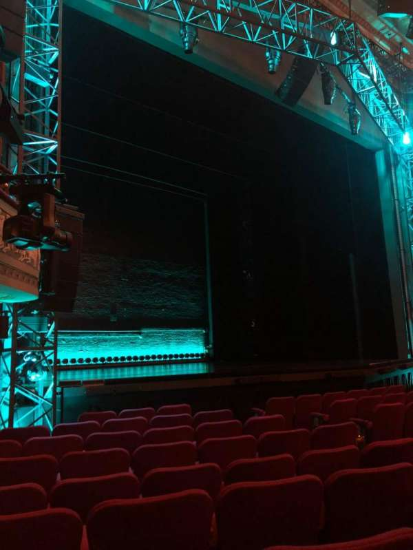 Broadhurst Theatre, section: Orchestra L, row: J, seat: 17