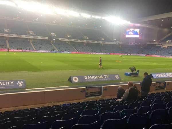 Ibrox Stadium , section: SW3, row: M, seat: 0238