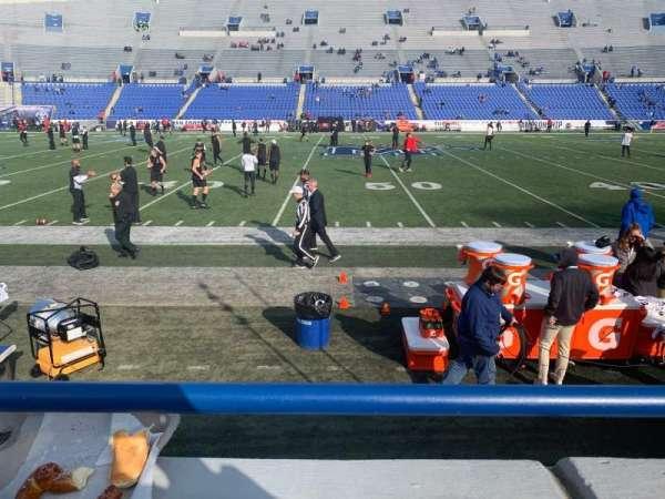 Liberty Bowl Memorial Stadium, section: 104, row: 7, seat: 19