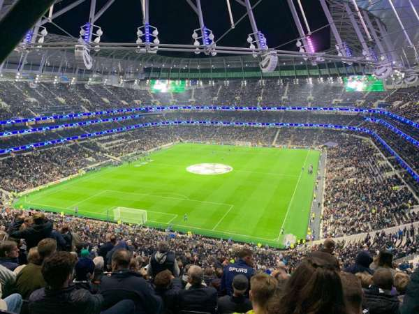 Tottenham Hotspur Stadium, section: 323, row: 70, seat: 129