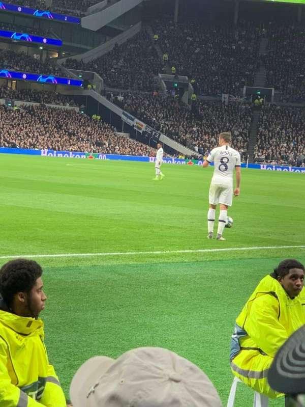 Tottenham Hotspur Stadium, section: 108, row: 4, seat: 231
