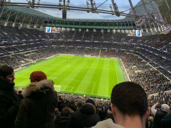 Tottenham Hotspur Stadium, section: 323, row: 70, seat: 157