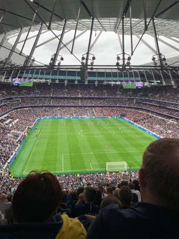 Tottenham Hotspur Stadium, section: 453, row: 75, seat: 264