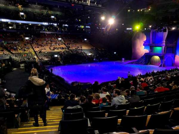 Scotiabank Arena, section: 121, row: 20, seat: 17