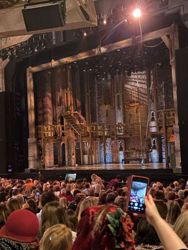 Orpheum Theatre (San Francisco), section: Orchestra R, row: Y, seat: 28