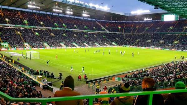 Celtic Park, section: 122, row: AA, seat: 20