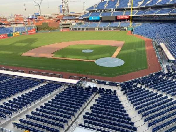 Citizens Bank Park, section: 225, row: 1, seat: 9
