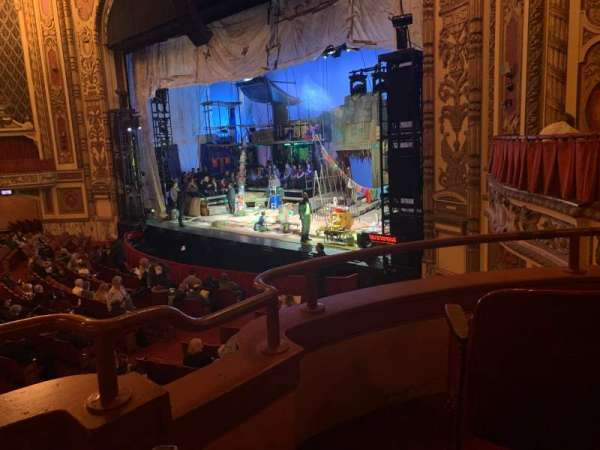 Cadillac Palace Theater, section: Dress Circle FR, row: CC, seat: 6