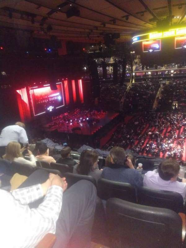Madison Square Garden, section: 224, row: 7, seat: 16