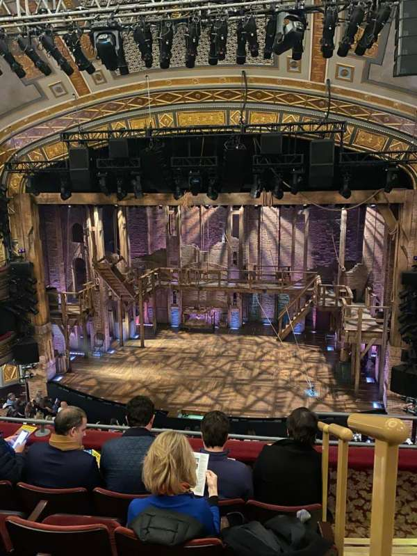 Richard Rodgers Theatre, section: Front Mezzanine C, row: E, seat: 101