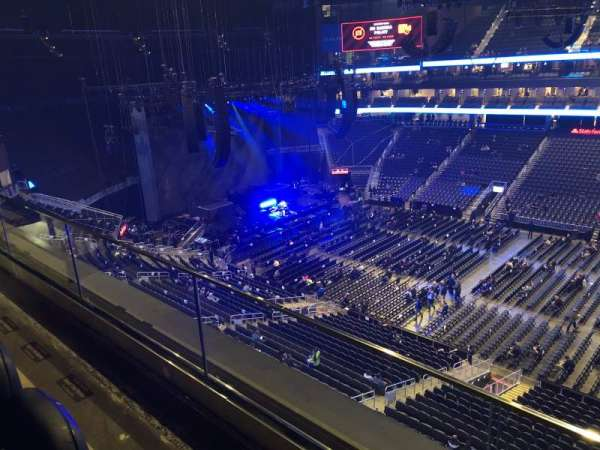State Farm Arena, section: 221, row: B, seat: 10