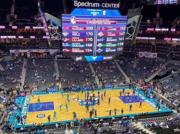 Spectrum Center, section: 226, row: B, seat: 19