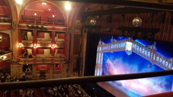 Bristol Hippodrome, section: Upper Circle, row: A, seat: 15