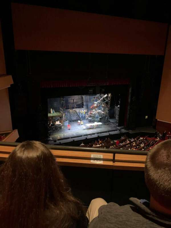 Durham Performing Arts Center, section: Balcony 8, row: B, seat: 308