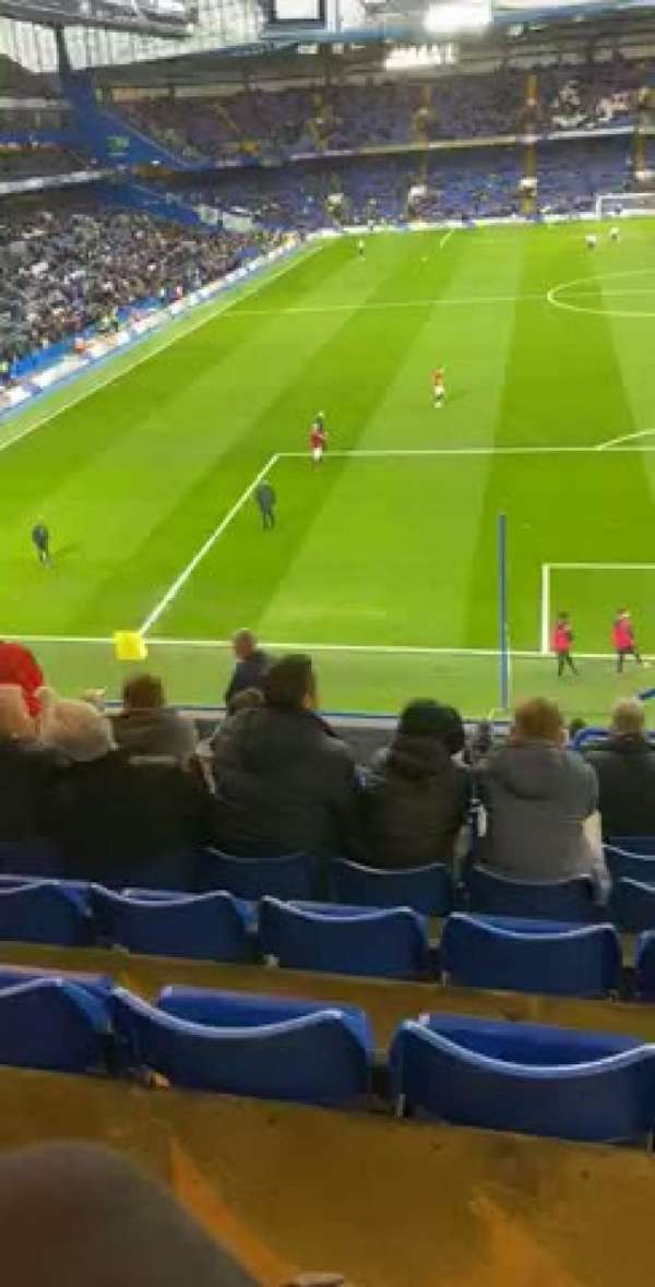 Stamford Bridge, section: Shed upper, row: 14, seat: 161