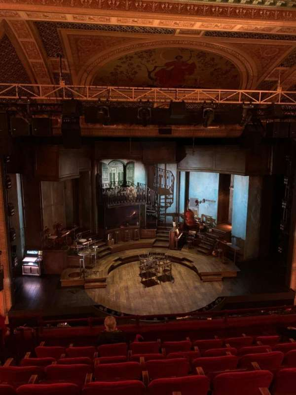 Walter Kerr Theatre, section: Mezzanine C, row: G, seat: 112