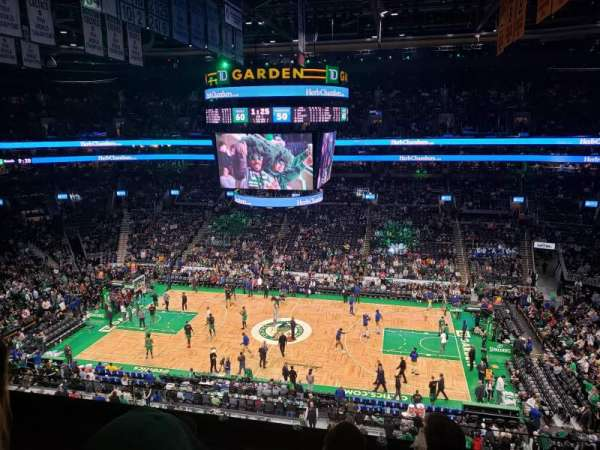 TD Garden, section: Bal 330, row: 4, seat: 10