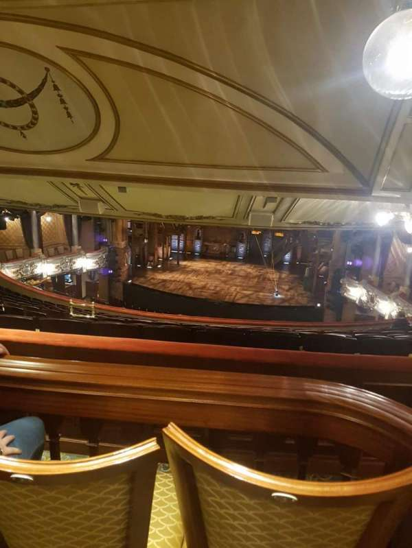 Victoria Palace Theatre, section: Matcham box, row: 1, seat: A