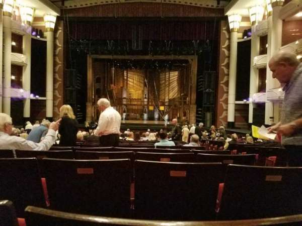 Dreyfoos Hall at the Kravis Center, section: Orch, row: X, seat: 113