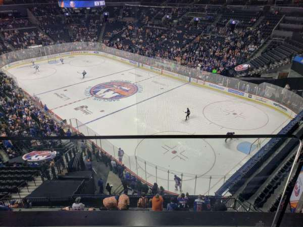 Barclays Center, section: 203, row: 1, seat: 10