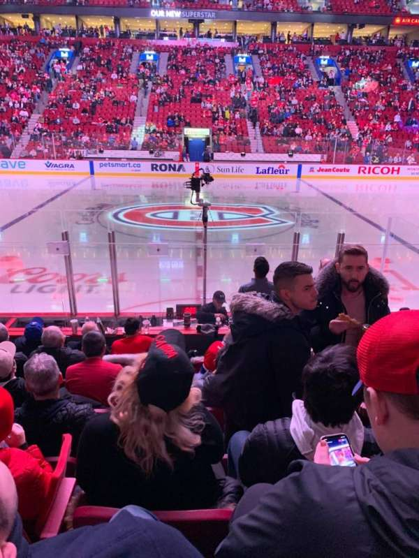 Centre Bell, section: 113, row: C, seat: 10