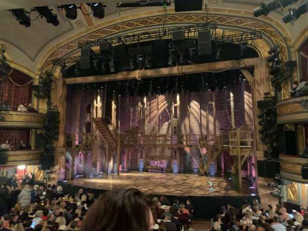 Richard Rodgers Theatre, section: Orchestra R, row: P, seat: 6