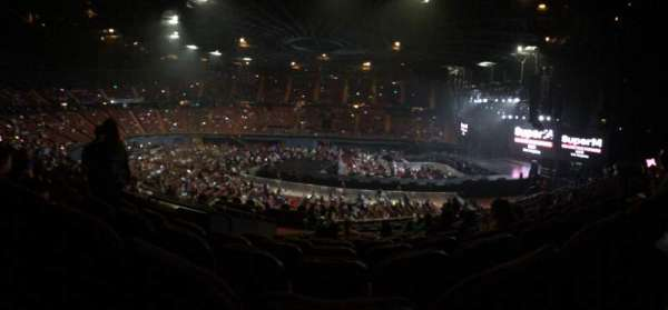 The Forum, section: 110, row: 16, seat: 5/6