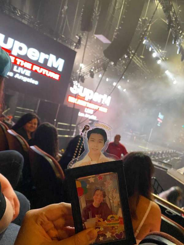 The Forum, section: 125, row: 3, seat: 5