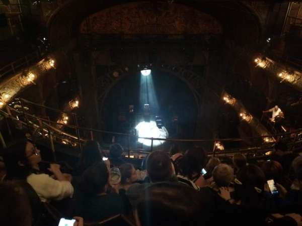 Palace Theatre (West End), section: Balcony, row: E, seat: 18