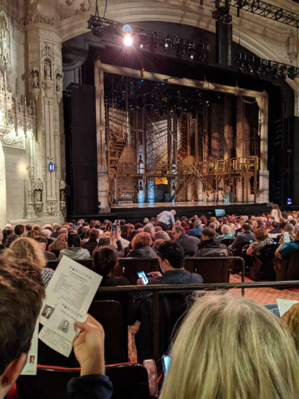 Orpheum Theatre (San Francisco), section: Orchestra L, row: V, seat: 19