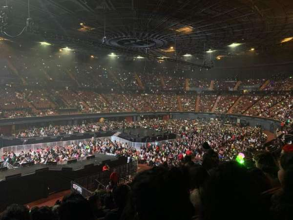 The Forum, section: 124, row: 13, seat: 3