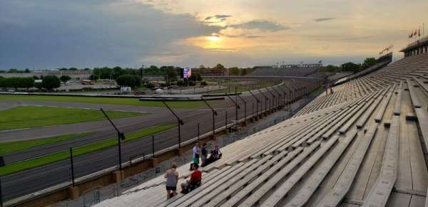 Indianapolis Motor Speedway, section: Southwest Vista 10, row: AA, seat: 9-12