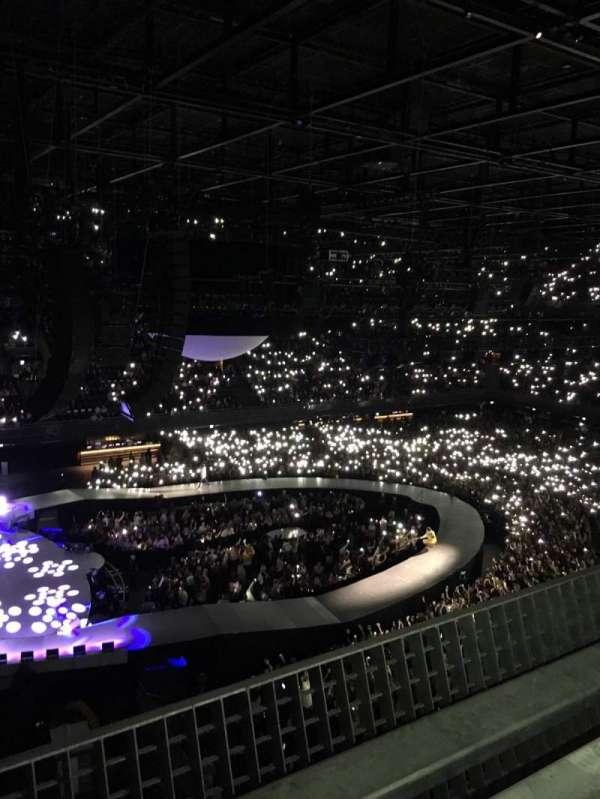 Ziggo Dome, section: 214, row: 1, seat: 456